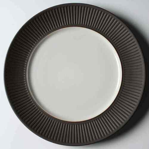 Round Platter Dansk FLAMESTONE BROWN Chop Plate 8385648