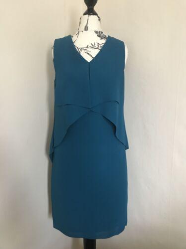Taille Vert Sarcelle 198 Reiss Robe 4 6 £ Rrp b6f7yg