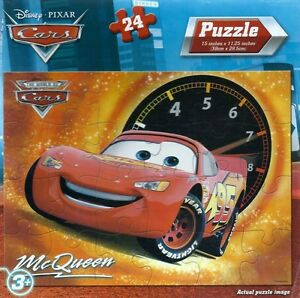 new disney cars lightning mcqueen 24 piece puzzle ebay. Black Bedroom Furniture Sets. Home Design Ideas