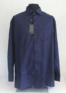 Details zu ETERNA Herrenhemd modern fit blau Kragenweite 46 130339X37R #209