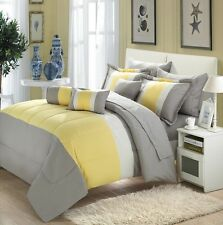 10-piece Comforter Bed in a Bag Set with Sheets Bedding Queen Size New Luxurious