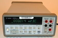 Hp Agilent Keysight 34401a Digital Multimeter 6 Digit With Manual Etc