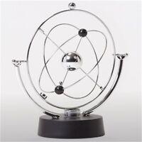Planet Kinetic Mobile Executive Toy - Sculpture Silver Office Desktop Gadget