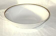 """Vtg Royalton China 9"""" Serving Bowl Golden Elegance Translucent Porcelain Lot B"""