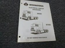 1994 1997 International 9600 9700 Truck Tilt Cab Service Repair Manual 1995 1996 Ebay