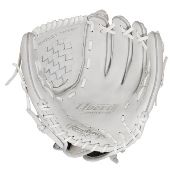 "RHT Rawlings Liberty Womens 33/"" Softball Catchers Mitt White RLACM33-3//0"
