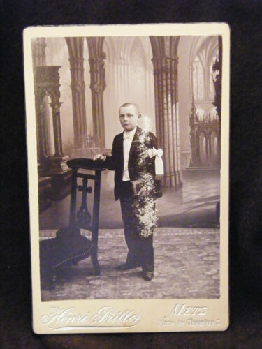 Photography Communicant Henri Prillot Metz 19TH th Century 2