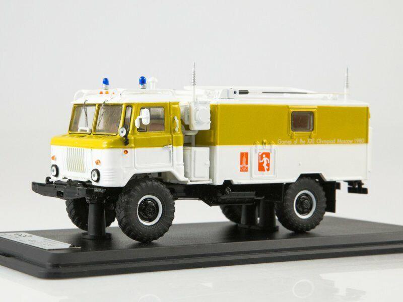 ordenar ahora Modelo de escala camión 1 43 KShM R-142 R-142 R-142 (66) el apoyo de la llama olímpica  Con 100% de calidad y servicio de% 100.