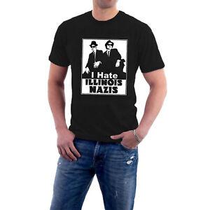 Blues Brothers Jake & Elwood Illinois Nazis Mission from God Rollers Tee