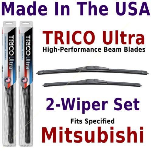 Buy American TRICO Ultra 2-Wiper Blade Set fits listed Mitsubishi 13-24-22