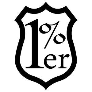1 er one percent anchor custom harley chopper bike vinyl decal rh ebay ie harley number one logo harley davidson one logo