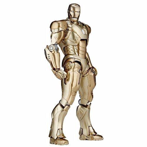 Tokusatsu Revoltech No.052 Iron Man 3 Ironman Mark XXI Midas figura Kaiyodo