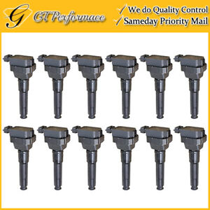 Quality Ignition Coil 12PCS for 1996-1999 Mercedes-Benz S600// 1996-1998 SL600