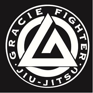 Gracie-Jiu-Jitsu-Decal-034-Sticker-034-for-Car-or-Truck-or-Laptop