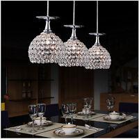 Modern Crystal Led Pendant Lamp Ceiling Light Lighting Chandelier Decor 3025h