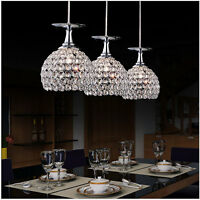 Modern Crystal Led Pendant Lamp Ceiling Light Lighting Chandelier Decor 3025h