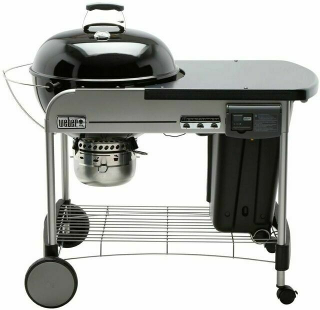 Weber Performer Deluxe Charcoal Grill - 15501001