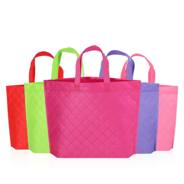 Reusable Shopping Bags Tote Collapsible Fabric Storage Grocery Bag Recycle  Cloth