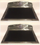 Chevrolet Chevy Polished Deluxe Aluminum Running Board Step Plate w// Rubber SET