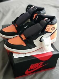 hot sales 23cac 0a518 Details about Air Jordan 1 Satin Shattered Backboard SBB, Women's Size  12/Men's 10.5 W/RECEIPT