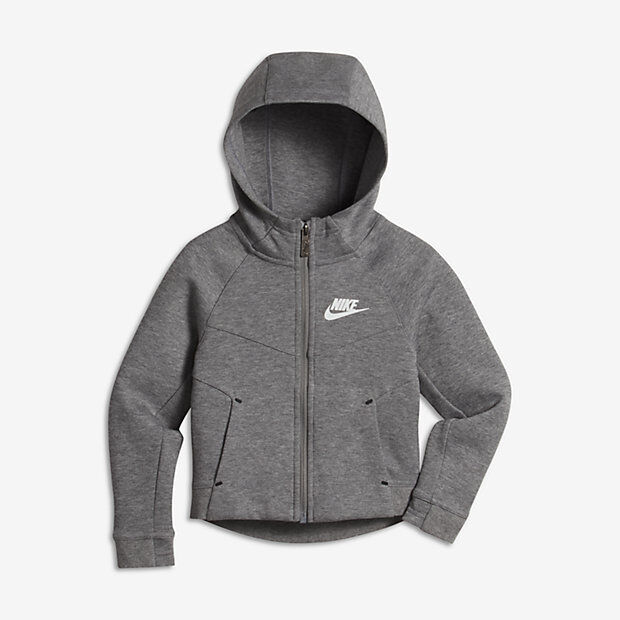 18ef1f7e7 Nike Youth 6x Sportswear Grey Tech Fleece Kids Hoodie Carbon Heather 36b636  Geh for sale online | eBay