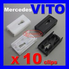 Mercedes Vito W638 Clase V Frontal Parabrisas un pilar costura lateral en clips 638