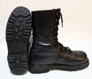 Leather-German-Austrian-Para-Combat-Half-Lined-Boots-Grade-1-Military-Surplus