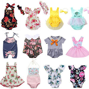 Fashion-Newborn-Infant-Baby-Girls-Floral-Romper-Bodysuit-Jumpsuit-Outfit-Clothes