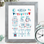Personalised-Birth-Print-for-Baby-Boy-Girl-New-Baby-Gift-or-Christening-Present thumbnail 50
