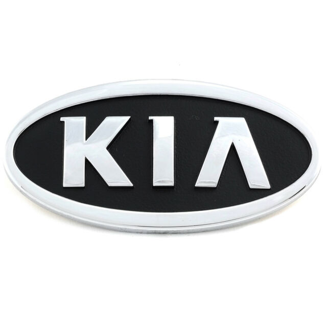 Front Grille Emblem Kia Spectra Sedona Rio Part Number 0k0ua51725 Ebay