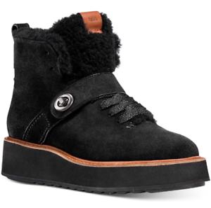 NEW Coach Women's Urban Hiker Fashion Boots Size 10 B Black $219