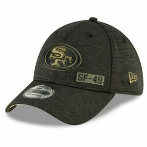 New Era 39Thirty Cap Salute to Service San Francisco 49ers