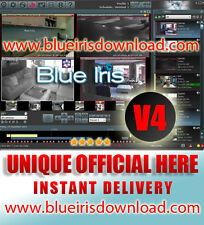 Blue Iris Pro v4. (Latest) Video Camera Security Software - Full License Life