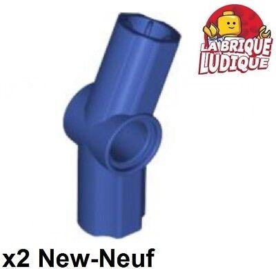2x Axe Axle pin connector angle 157.5° #3 jaune//yellow 32016 NEUF Lego technic