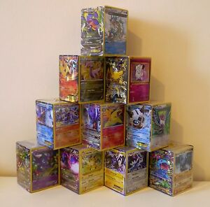 Pokemon-MYSTERY-Cube-200-Cards-Guaranteed-EX-GX-HR-SR-FA-ENGLISH-ULTRA-RARE