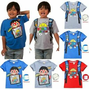 2019-Ryan-Toys-Review-Kids-T-Shirt-Ryan-039-s-World-Cartoon-Short-Sleeve-Tops-Tee