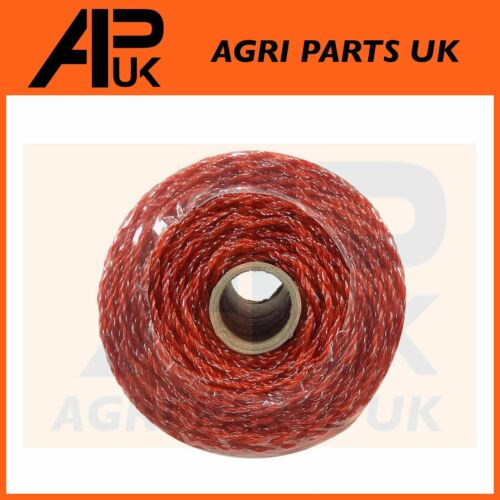 ELECTRIC FENCING POLY WIRE 250m Orange 2.5mm Fence 3 x 0.15mm Conductors