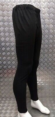 Genuine German Army Issue Cold Weather Thermals Activewear Bottoms Long Johns Over Dyed Black