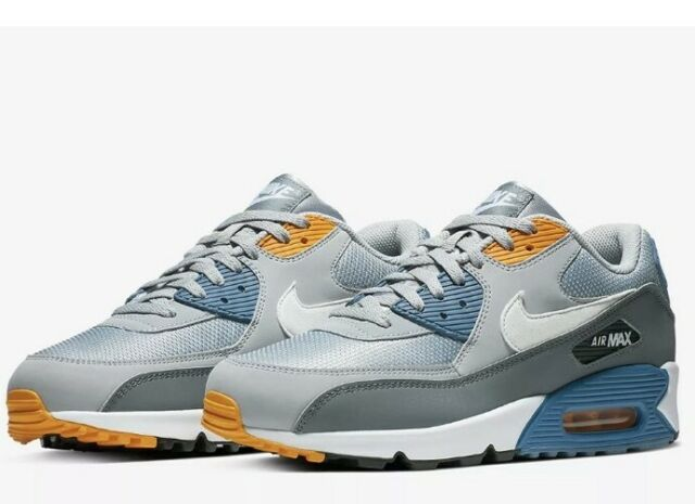 747cec65fc47d NWT Nike Air Max 90 Essential Running Shoes - Blue & Grey - AJ1285-016 -  SZ-13