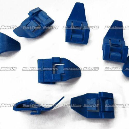 15 Belt Weatherstrip Moulding Clip Nylon Retainer A19415 91527-SM4-003 For Honda
