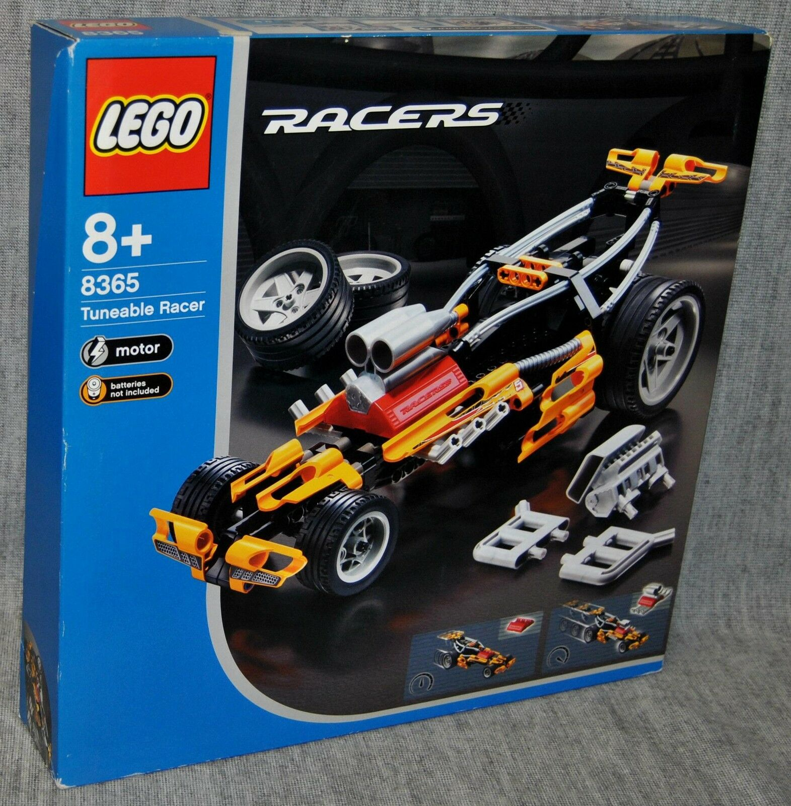 Lego 8365 TUNEABLE RACER RACERS Neu