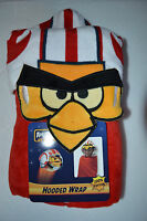 Angry Birds Luke Sywalker Hooded Wrap Kids Beach Towel Bath