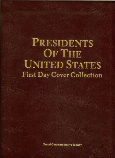 Postal Commemorative Society First Day Covers - Presidents of the United States