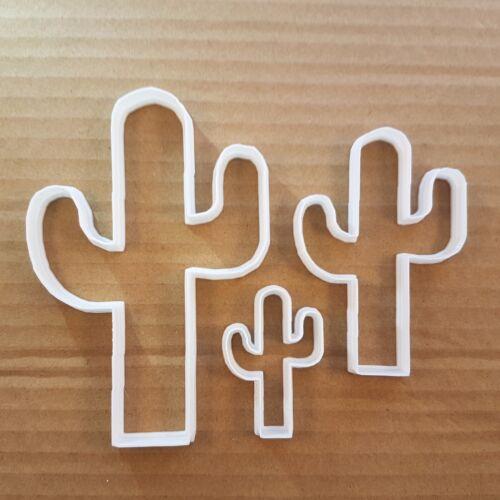 Cactus Cookie Cutter Desert Plant Dough Pastry biscuit cacti Shape Stencil Sharp