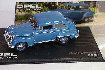 Altaya Opel Olympia 1951 -1953 1:43 Calcolo Attento E Bilancio Rigoroso