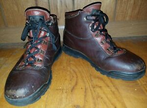 65ae4861f48 Details about Vasque Skywalk Brown Leather Gore-Tex Hiking Boots Women's Sz  11N Made in Italy