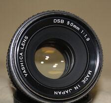 YASHICA DSB 50mm 1:1.9 PRIME LENS YASHICA / CONTAX MIRRORLESS EOS M4/3 4/3 7278