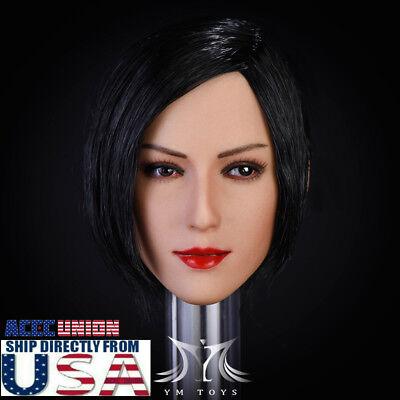 EN STOCK 1//6 Resident Evil Ada Wong Head Sculpt pour Hot Toys Phicen USA Vendeur