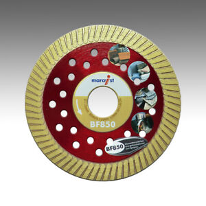 Marcrist-BF850-115mm-x-22-23mm-Diamant-Trennscheibe-Beton-Granit-Kinker-Ziegel