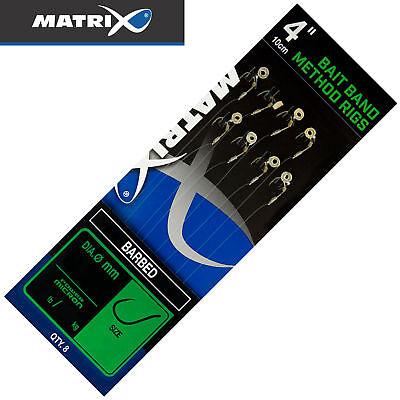 "Fox Matrix Carp Pole Rigs 6/"" X-Strong Barbed Vorfach Fertigrig Rig Fertigvorfach"